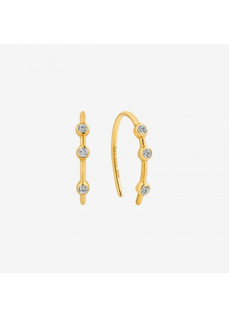 ORECCHINI ANIA HAIE Shimmer Stud Hook Earrings