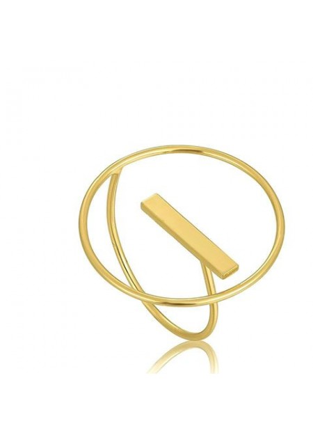 ANELLO ANIA HAIE Modern Circle Adjustable Ring