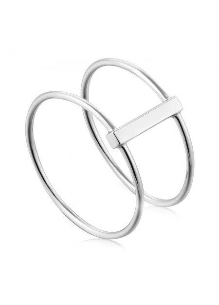 ANELLO ANIA HAIE Modern Double Ring