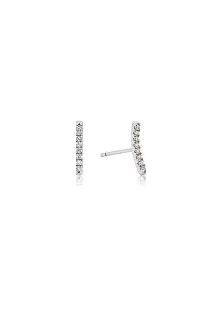 ORECCHINI ANIA HAIE Shimmer Pavé Bar Stud Earrings