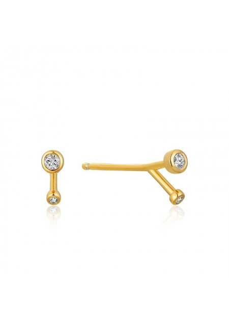 ORECCHINI ANIA HAIE Shimmer Double Stud Earrings