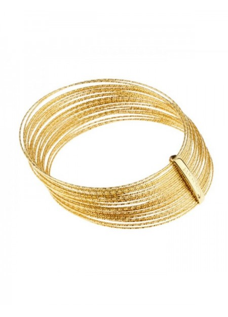 BANGLE DONNA RIGIDO DORATO