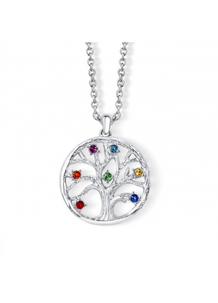 Collana chakra tree of life con cristalli Swarovski®